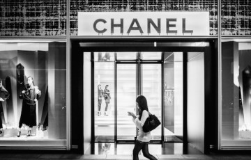 Chanel store Tokyo Japan