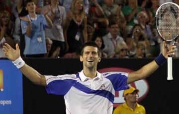 Djokovic_celebrates_AO_2011