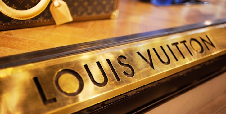 Louis Vuitton Boutique Window in Florence