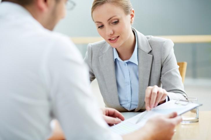 Female consultant