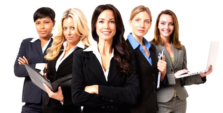 Businesswomen-on-White