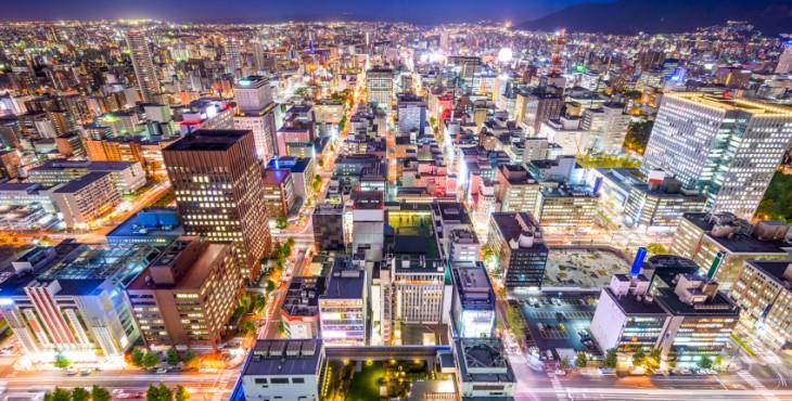 Sapporo, Japan Cityscape