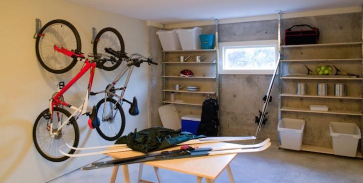 basement house clutter