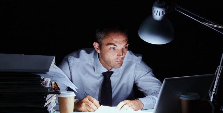 Man has to complete his report till next morning