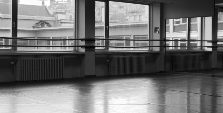 old dance studio